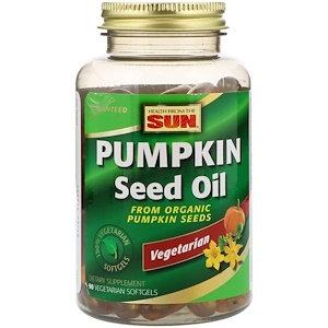 Óleo de semente de abóbora