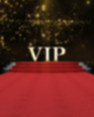 Red Event Carpet, Stair and Gold Rope Ba
