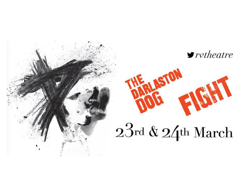 Poster for the theatre show Darlaston Dog Fight