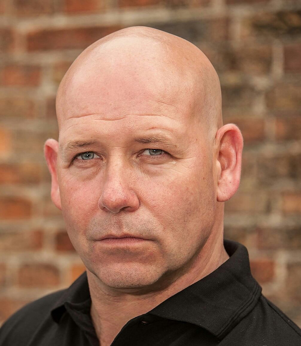 Headshot for the actor and producer Stacey J Gough