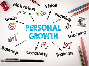 Personal Growth Concept. Chart with keywords and icons on white background.jpg