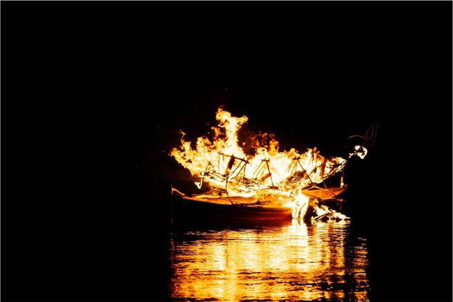 Cremation of Canoe
