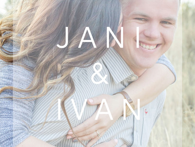 ENGAGEMENT | Jani & Ivan