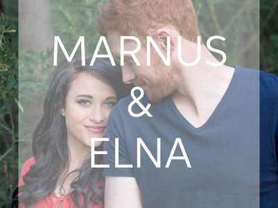 ENGAGEMENT | Marnus & Elna