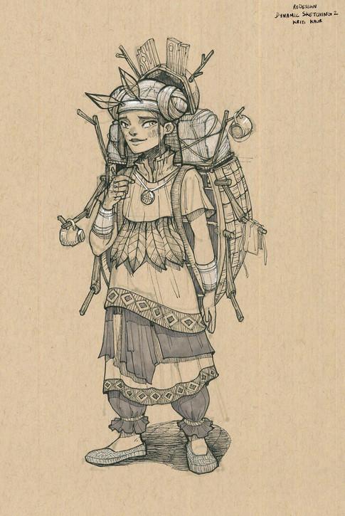 CGMA Assignment: Costume Design