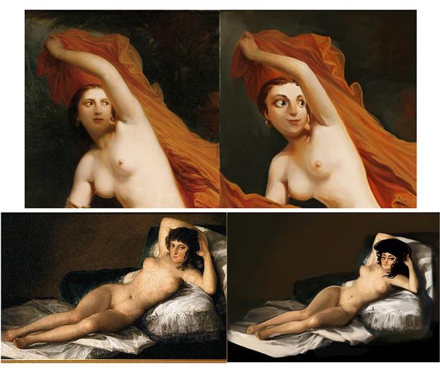 Paintings RePainted
