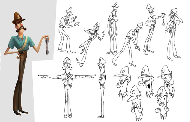 """Character Design for """"None of That"""""""