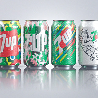 7UP DRINK THE DECADE