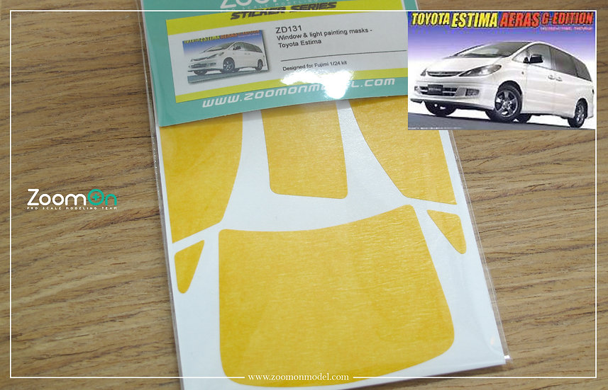 ZD131 Window & light painting masks - Toyota Estima