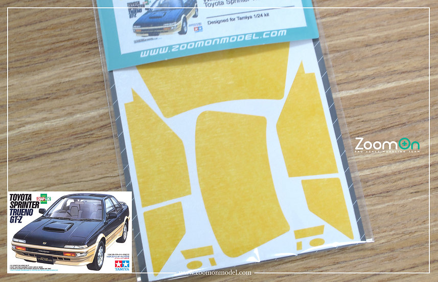 ZD146 Window & light painting masks -  Toyota Sprinter Trueno (AE92)