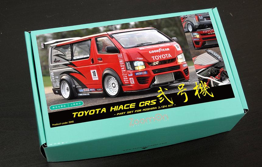 Z040 Toyota Hiace CRS 弐号機 part set