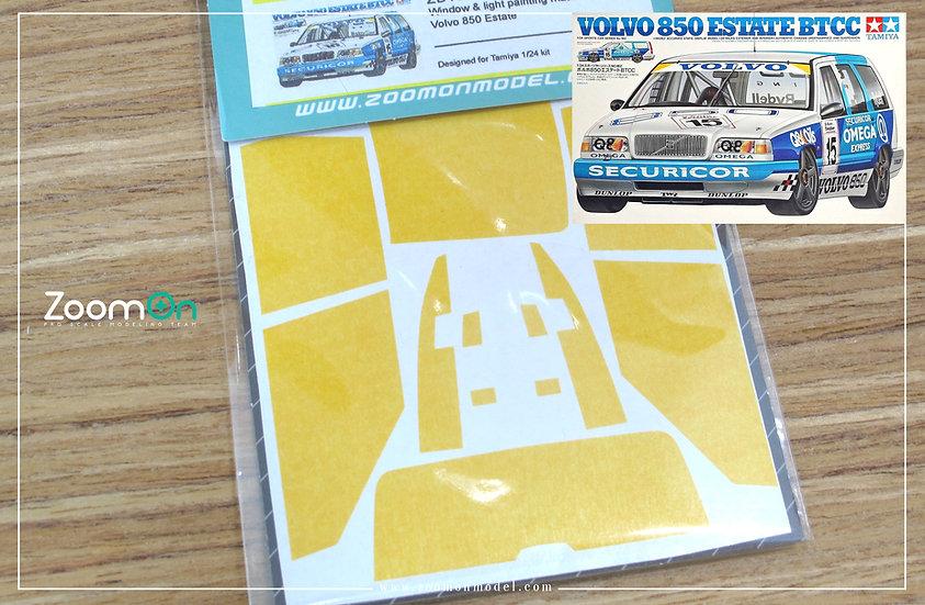 ZD105 Window & light painting masks -  Volvo 850 Estate