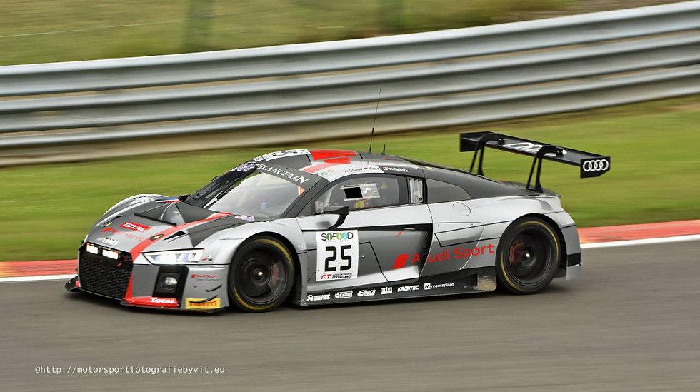 SK24108 Audi R8 LMS GT3 SPA 24H 17 Audi Sport Team Sainteloc