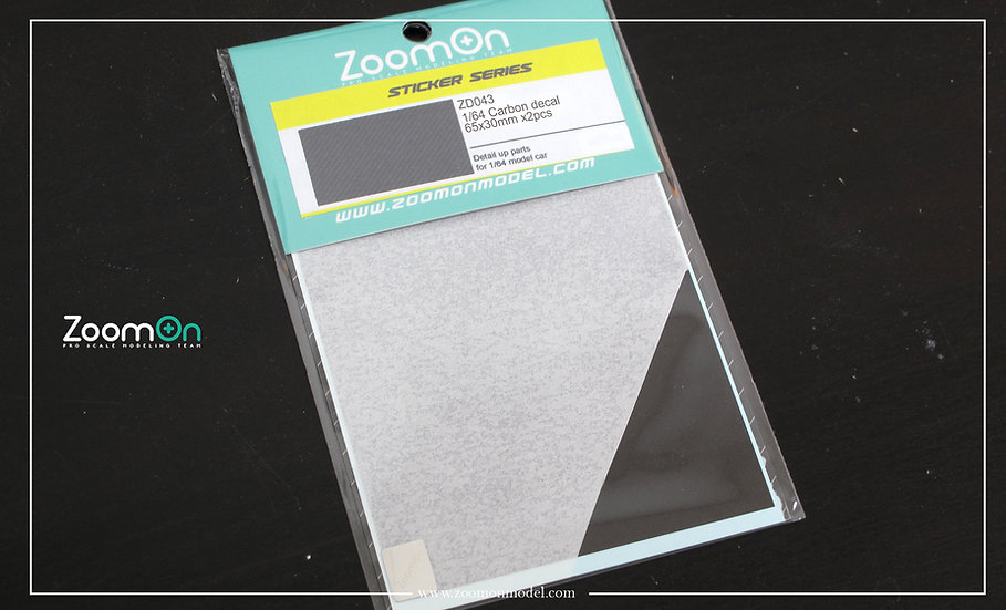 ZD043 1/64 Carbon decal