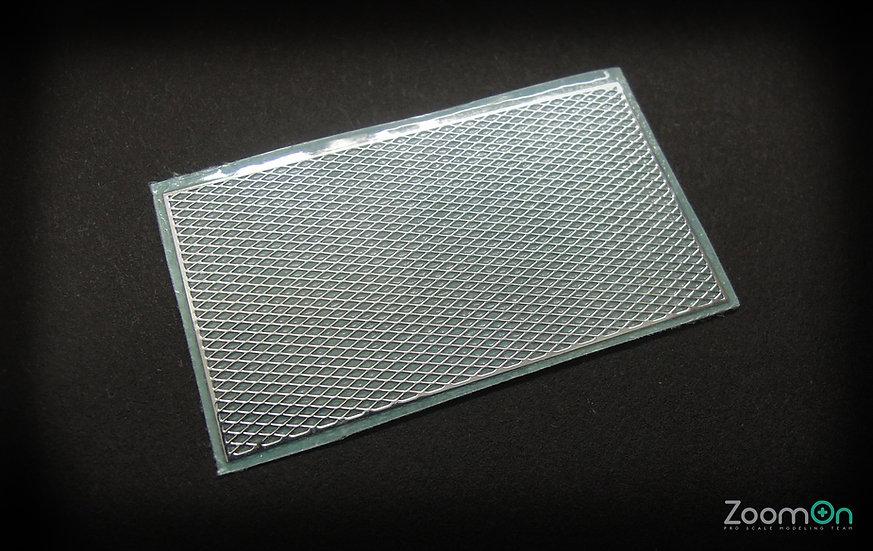 ZD011 Grid pattern metal sticker
