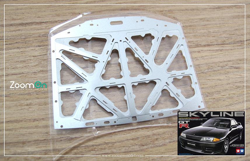 ZD078 Nissan Skyline GTR R32 hood structure