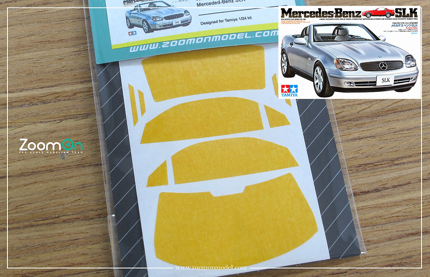 ZD116 Window & light painting masks - Merceded-Benz SLK