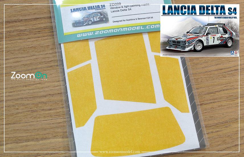 ZD099 Window & light painting masks -  Lancia Delta S4