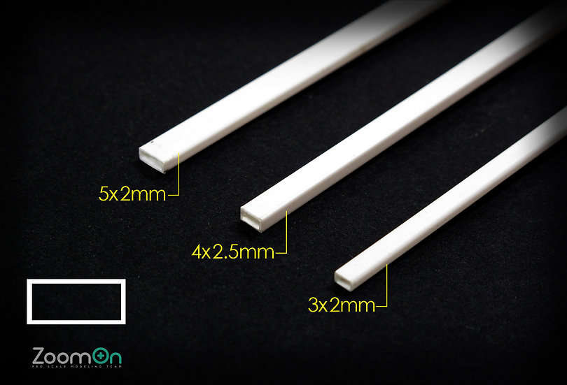 ZT009 Rectangle plastic rod set (Tube)