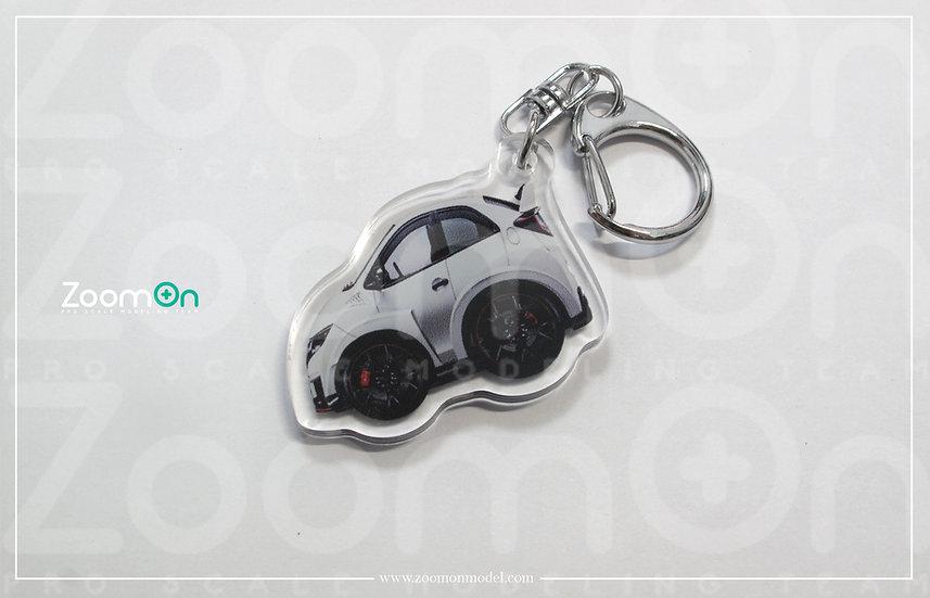 ZA011 Honda civic type R FK8 Q Keychain