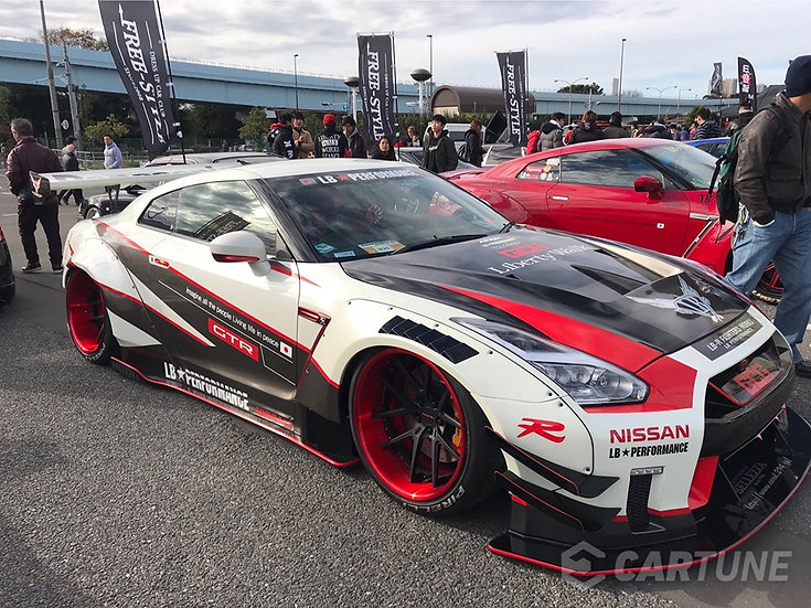 SK24091 LB-WORKS NISSAN GT-R R35 type 2 GT3 Style