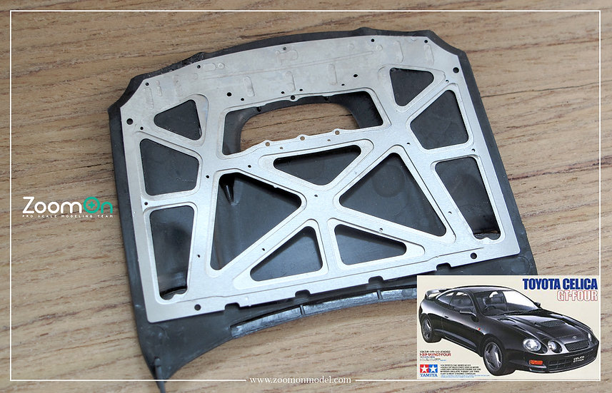 ZD123 Toyota Celica Gt-Four hood structure