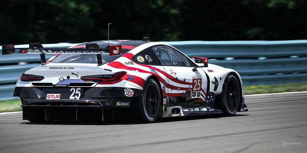 SK24123 BMW M8 GTE WeatherTech SportsCar Championship Watkins Glen 6H 2018