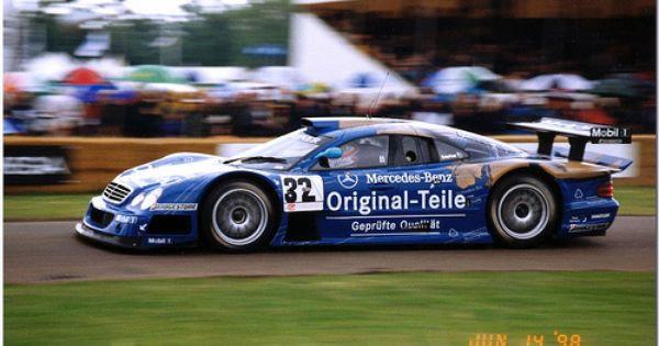 SK24139 Mercedes Benz CLK GTR FIA GT 1998 Team Persson Motorsport Instruction