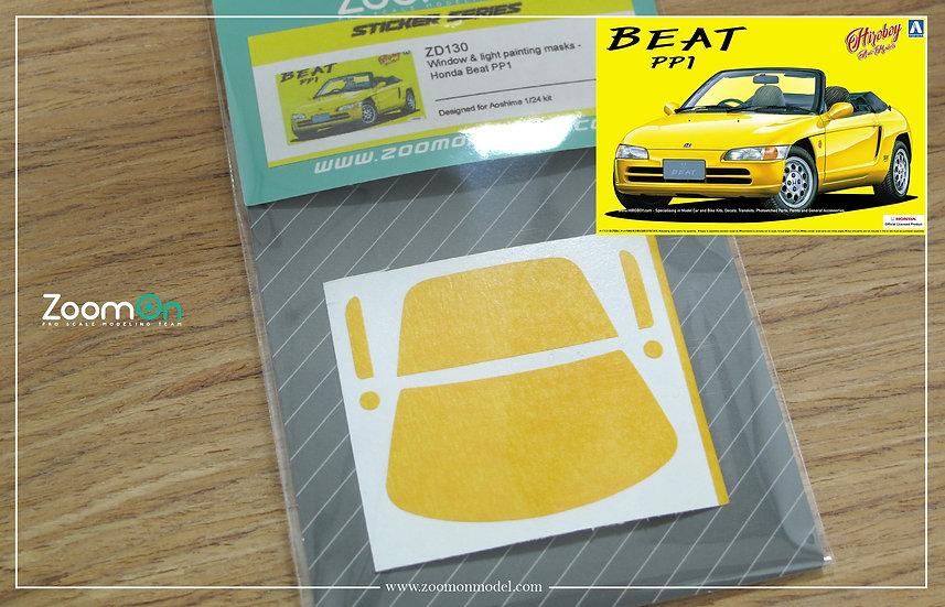 ZD130 Window & light painting masks - Honda Beat PP1