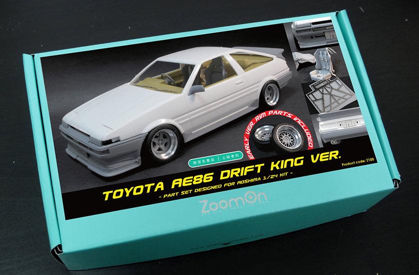 Z100 Toyota AE86 Drift king ver. part set