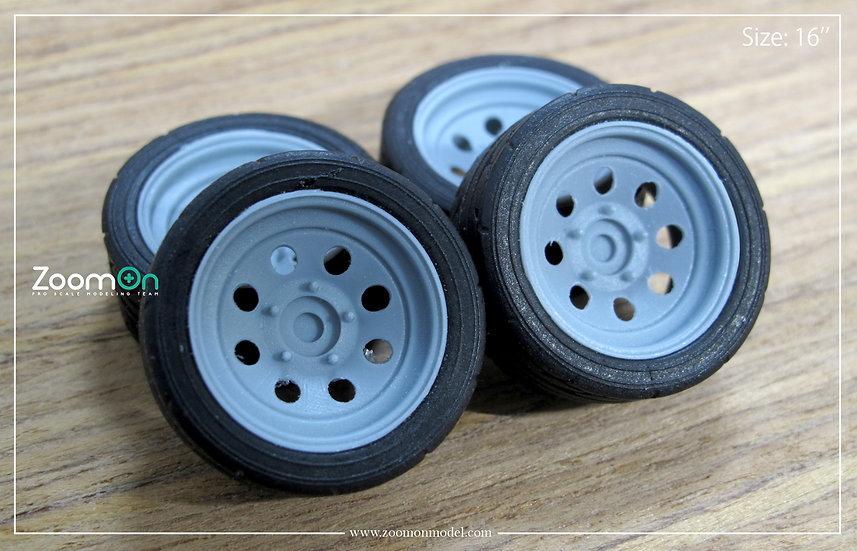 ZR062 Circle steel rim set