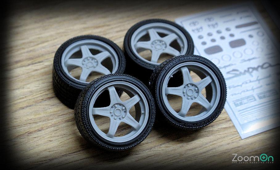 ZR020 18'' TRD T3 Sport rim set