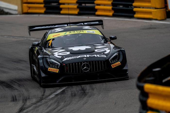 SK24084 Mercedes AMG GT3 FIA World Cup Macau #1 E.Motara