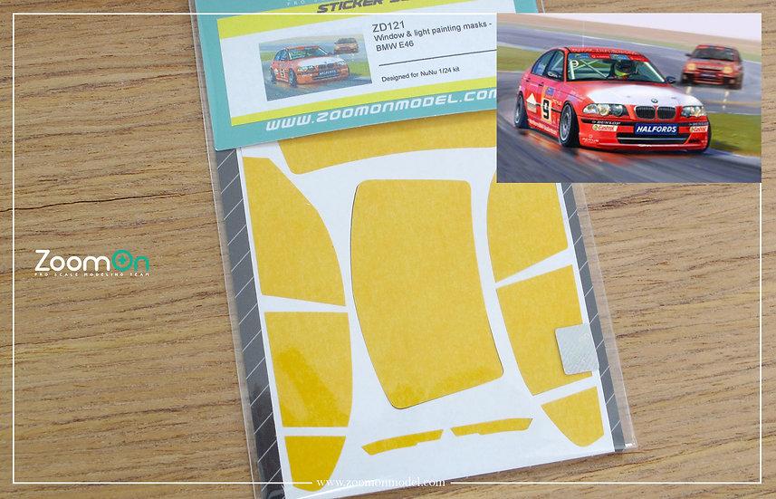 ZD121 Window & light painting masks - BMW E46
