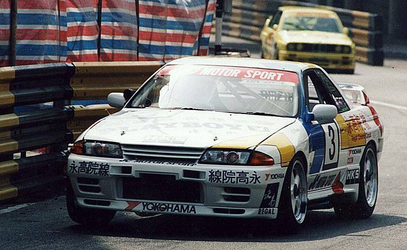 SK24043 Nissan Skyline GT-R Macau Guia 91 HKS