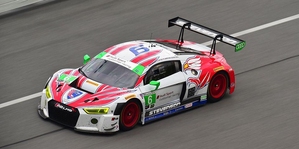 SK24119 Audi R8 LMS GT3 Stevenson Motorsports Team - Rolex 24 Hours of Daytona