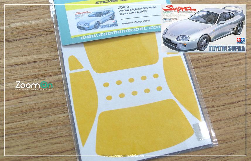 ZD073 Window & light painting masks - Toyota Supra (JZA80)
