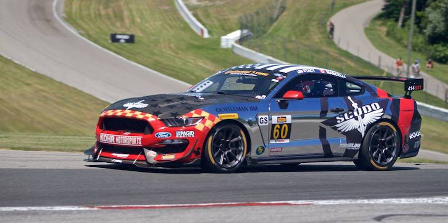 SK24117 Ford Mustang GT4 Continental Tire SportsCar Challenge Mosport 2018 #60