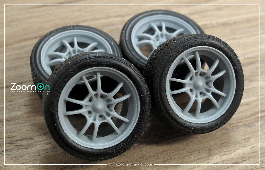 ZR005 16'' Mugen MF-10 rims set (New version)