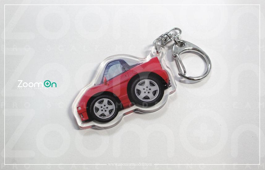ZA023 Honda NSX NA1 Q Keychain