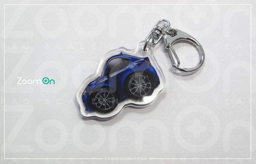 ZA010 Toyota GT86 Q Keychain