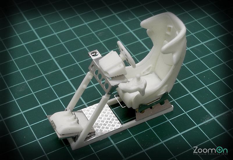 Z019 GamePOD GT2 & Logitech G27 set