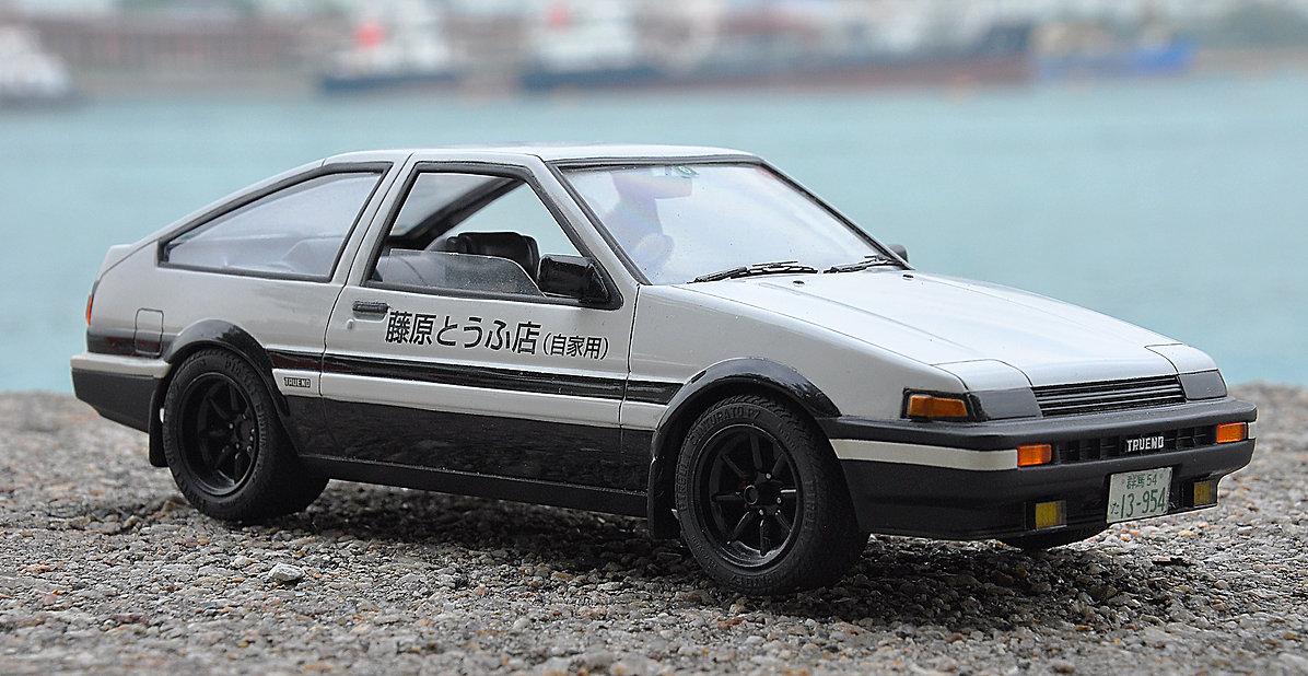 Toyota Trueno Ae86, ae86, fujimi, 1/24, zoomon, zoomonmodel