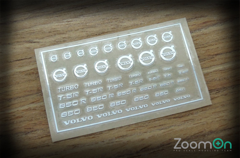 ZD016 Volvo logo metal sticker