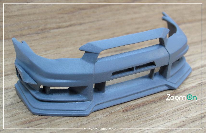 Z073 EVO X Varis front bumper