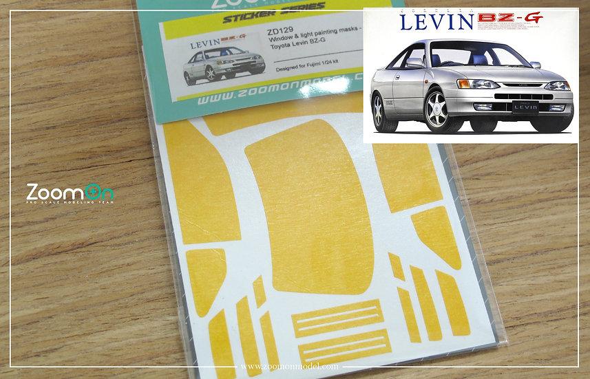 ZD129 Window & light painting masks - Toyota Levin BZ-G