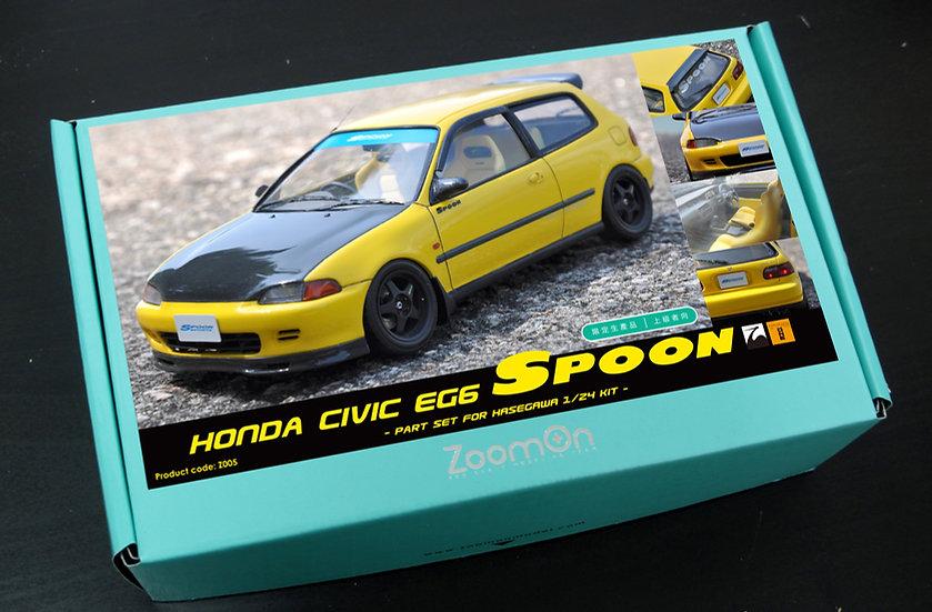 Z005 Honda Civic EG6 Spoon part set