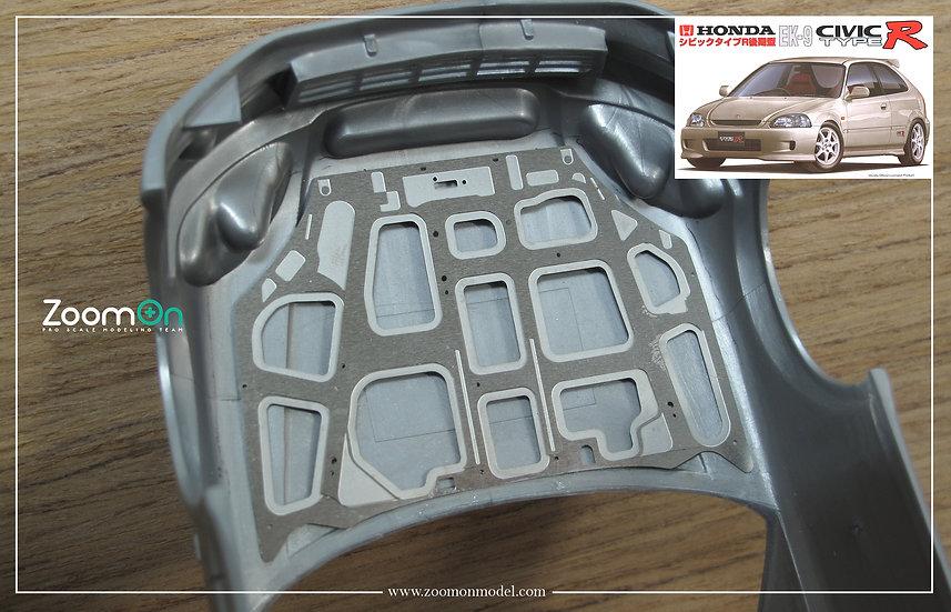 ZD138 Honda Civic Type R EK9 hood structure