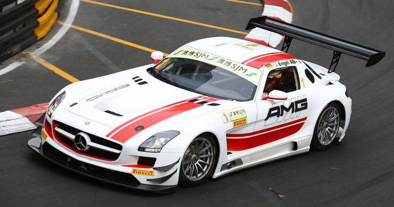 SK24023 Benz SLS AMG GT3 FIA GT World Cup Macau Decal Set