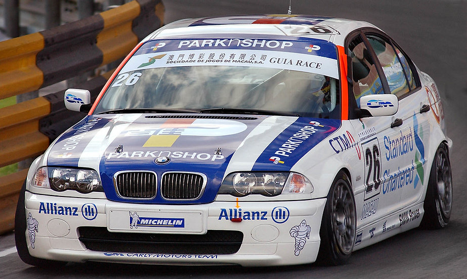SK24112 BMW 320i Macau Guia 2002 Team Carly Motors